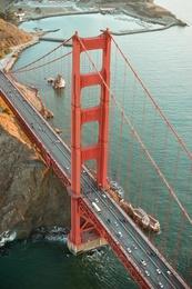 Golden Gate Bridge at Sun Rise