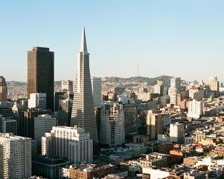 San Francisco Cityscape Transamerica Building