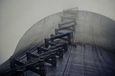 Nuclear Cooling Tower, Washington State