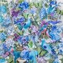Blue Lavender Birds