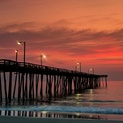 Fishing Pier Sunrise, Nags Head, OBX