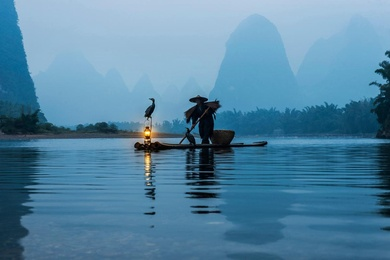 Fisherman on the Li River