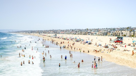Swimmers of Hermosa Beach North