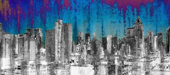 NY Blue Rough Sky