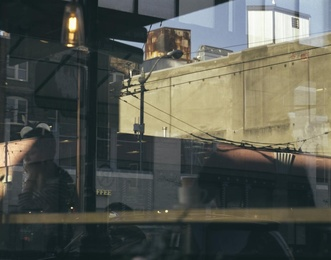 Cafe Reflection