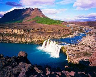 Iceland - Waterfall
