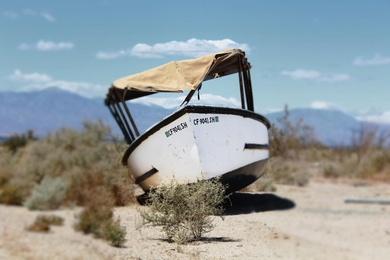 Salton Sea Boat