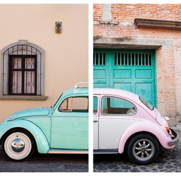 Punch Buggy #1 - Diptych Facemount