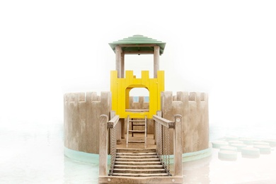 Beach Castle V