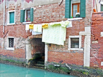 Laundry Day in Venice