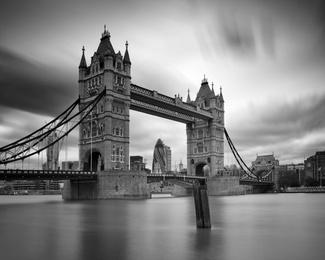 Tower Bridge in Monochrome