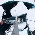 Yacht in Sea Ice