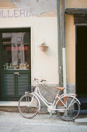 Bicycle in Monterosso, Italy