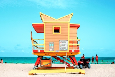 3rd Street Lifeguard Tower