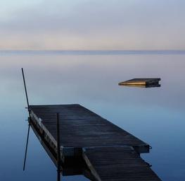 The Lake Takes a Breath