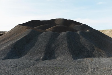 Palouse Gravel Pile
