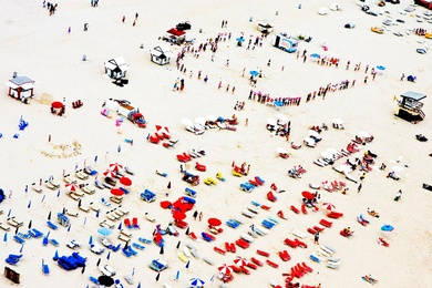 South Beach Aerial, Gathering