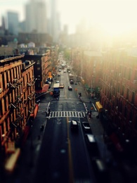 Above Chinatown - Two Bridge Street - New York City