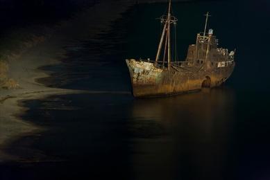 Grecian Shipwreck