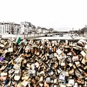 Love Locks and La Seine - Paris