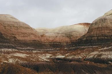 Painted Desert Study IX
