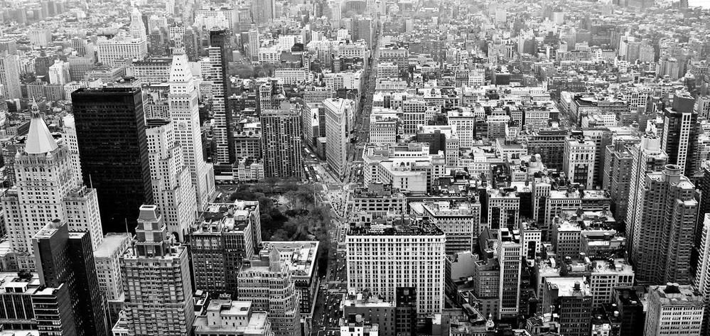 Birds Eye View Of New York City