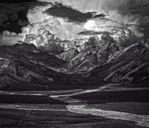 Denali |1 Mountain Range, Braided River |Alaska