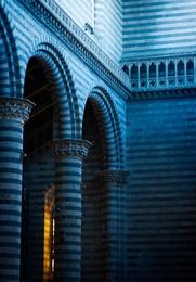 Blue Stone Orvieto Church