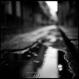 Rain, Havana, Cuba