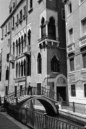 Small Bridge, Venice