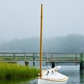 Anchored Sailboat, Cape Cod