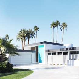 The Real Aqua Doors of Palm Springs