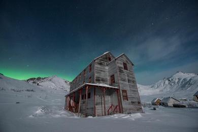 Moonrise at Bunkhouse No. 1