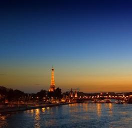 Sunset, La Tour Eiffel
