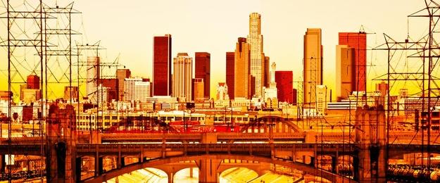 LA Skyline Panorama