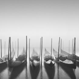 Gondolas in the Fog
