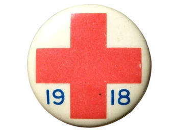 Red Cross Pin, 1918