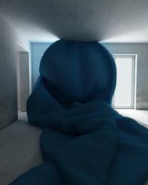BIG BLUE Fabric