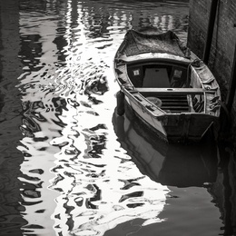 Boats & Reflections, Venice