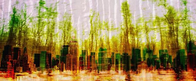 NY Green Crimped