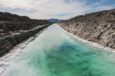 Calcium Chloride Canal #2