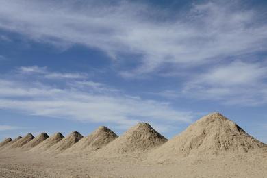 Calcium Chloride Piles #2