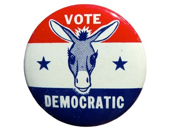 Democratic Pin #1