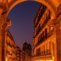 Plaza Mayor Arch, Madrid, Spain