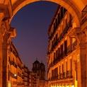 Plaza Mayor Arch, Madrid, Spain
