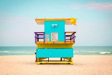 16th Street Lifeguard Tower
