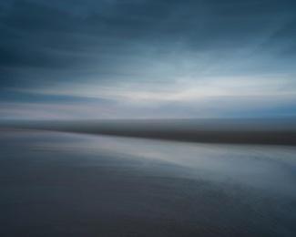Beach in Blue