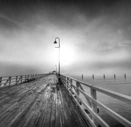 Pier in the Sun