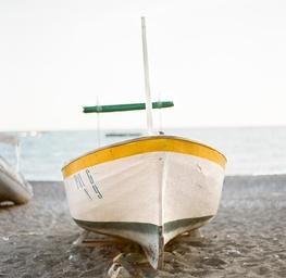 Boat on the Beach, Positano, Italy 2011