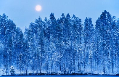 Moonrise, Finland